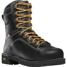 Danner Quarry USA Men's 8 Inch Internal Metatarsal Aluminum Toe Electrical Hazard Waterproof Leather Work Boot