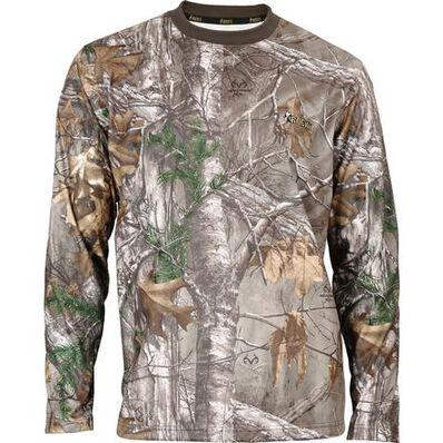 Rocky SilentHunter Long-Sleeve Performance Shirt, Rltre Xtra, large