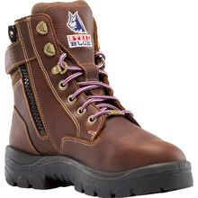 Steel Blue Southern Cross Zip Women's Steel Toe Internal Metatarsal Puncture-Resisting Work Boot