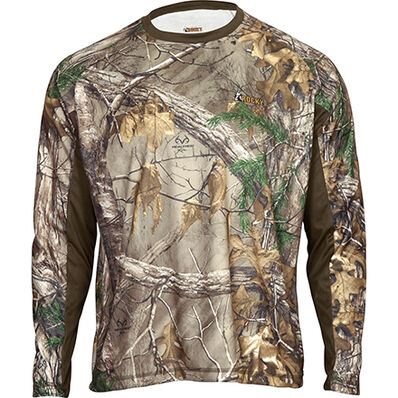 Rocky SilentHunter Long-Sleeve Scent IQ Shirt, Rltre Xtra, large