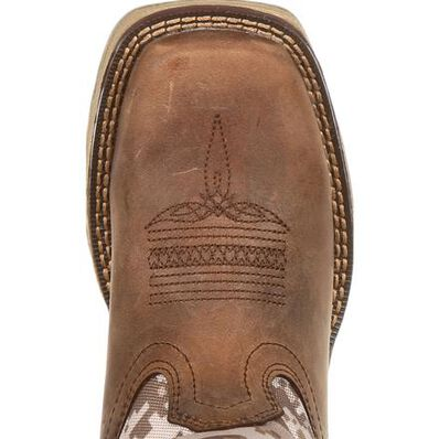 Lil' Rebel™ by Durango® Little Kids Desert Camo Western Boot, , large