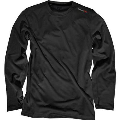 Timberland PRO Wicking Good Long-Sleeve T-Shirt, BLACK, large