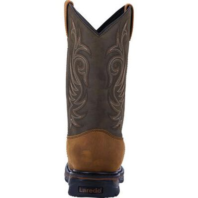 Laredo Hammer Men's Steel Toe Electrical Hazard Waterproof Western Pull-on Work Boot, , large