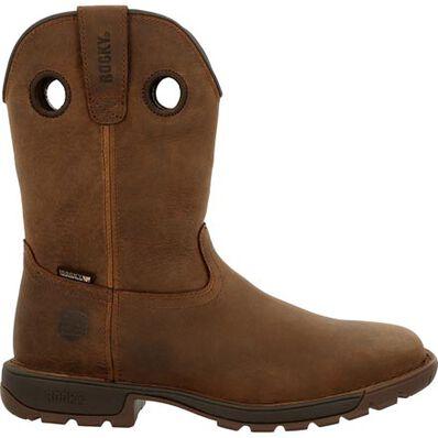 Rocky Legacy 32 Waterproof Brown Western Boot, , large