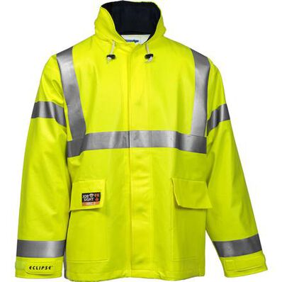 Tingley Eclipse™ Quad-Hazard® Hi-Vis Waterproof Arc-Flash and Flash-Fire Resistant Jacket, , large