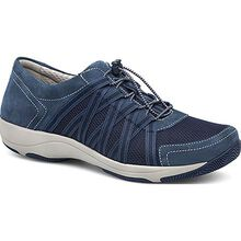 Dansko Honor Women's Casual Blue Suede Oxford
