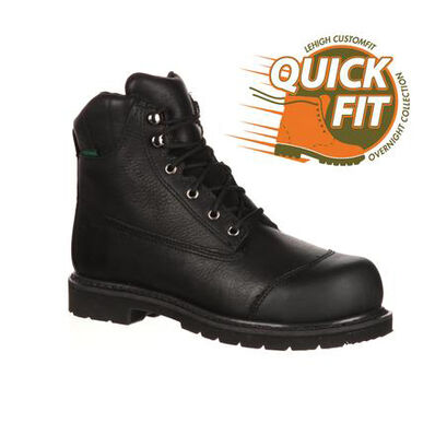 Lehigh Safety Shoes Unisex Steel Toe Waterproof 200g Insulated Work Boot, , large
