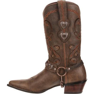 Crush™ by Durango® Women's Brown Heartbreaker Boot, , large