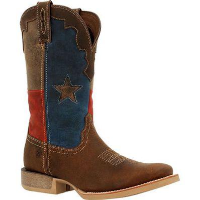 Durango® Rebel Pro™ Texas Flag Western Boot, , large
