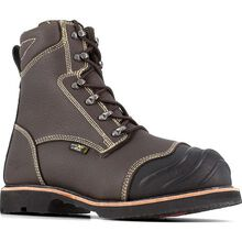 Iron Age Forgefighter Men's 10-Inch Composite Toe Internal Metatarsal Smelter Boot