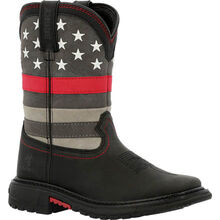 Rocky Red Line Kids Western Boot
