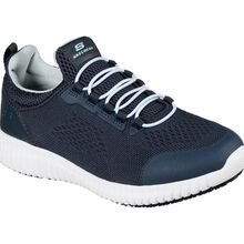 SKECHERS Work Cessnock-Carrboro Women's Slip-Resisting Electrical Hazard Slip-On Athletic Work Shoe