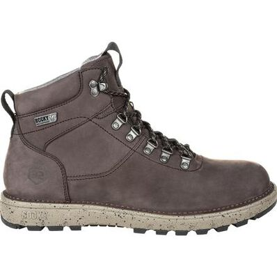 Rocky Legacy 32 Gray Waterproof Hiking Boot - Web Exclusive, , large