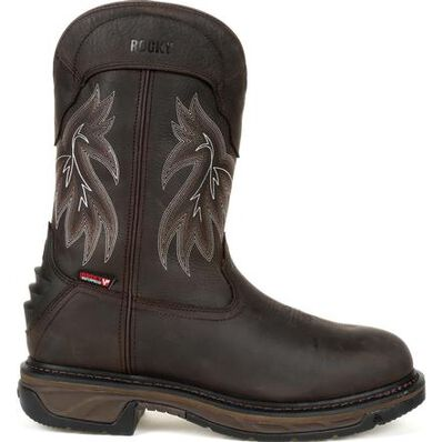 Rocky Iron Skull Waterproof Western Boot - Web Exclusive, , large