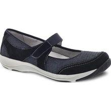 Dansko Hennie Women's Casual Black Slip-on Shoe with Strap