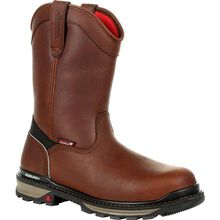Rocky Rams Horn Waterproof Composite Toe Pull-On Work Boot
