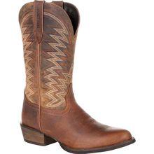 Durango® Rebel Frontier™ Distressed Brown R-Toe Western Boot