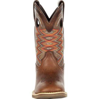 Durango® Lil' Rebel Pro™ Little Kid's Tiger Eye Western Boot, , large