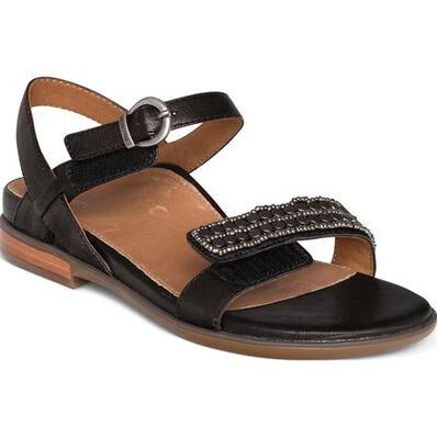 Aetrex Rylie Women's Casual Embellished Quarter Strap Sandal, , large