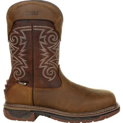 Rocky Iron Skull 600G Insulated Composite Toe Waterproof Western Boot, , large
