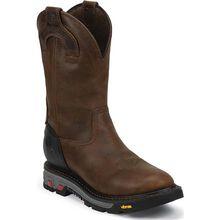 Justin Original Workboots Commander-X5 Steel Toe Waterproof Pull-On Western Work Boot