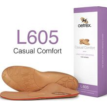 Aetrex Women's Casual Comfort Medium/High Arch Metarasal Support Orthotic