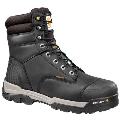 Carhartt Ground Force 8 inch CSA Composite Toe Puncture Resistant Insulated Waterproof Men's Work Boots, , large