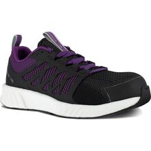 Reebok Fusion Flexweave Work Women's Composite Toe Electrical Hazard Athletic Work Shoe