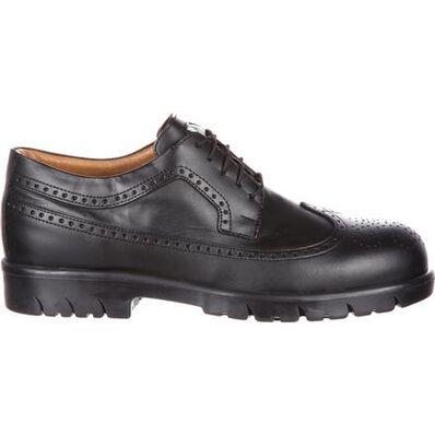 Mellow Walk David Steel Toe CSA-Approved Puncture-Resistant Work Wing-Tip Shoe, , large