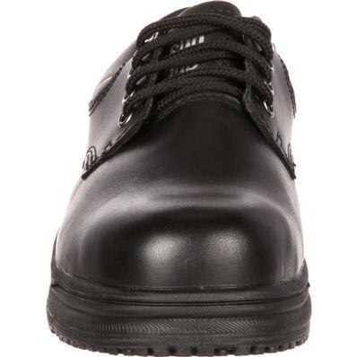 SlipGrips Steel Toe Slip-Resistant Oxford, , large