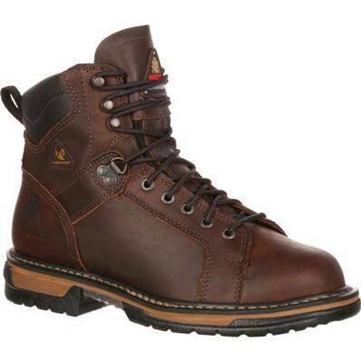 Rocky IronClad Waterproof Lace To Toe Work Boots, , large