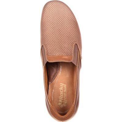 4Eursole Waltz Women's Latte Flat Sport Loafer, , large