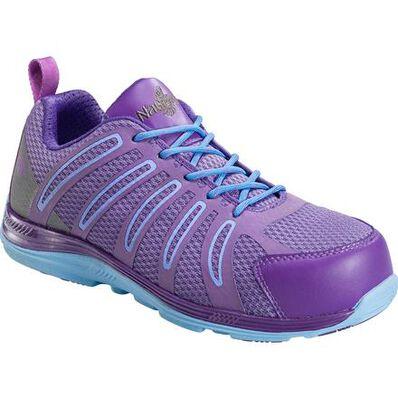 Nautilus Women's Carbon Fiber Toe Slip-Resistant Work Athletic Shoe, , large