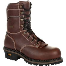 Georgia Boot AMP LT Logger Composite Toe Waterproof 600G Insulated Work Boot