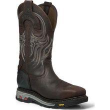 Justin Original Workboots Warhawk Composite Toe Puncture-Resistant Waterproof Work Pull-On Boot