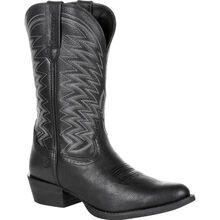 Durango® Rebel Frontier™ Black Western R-Toe Boot