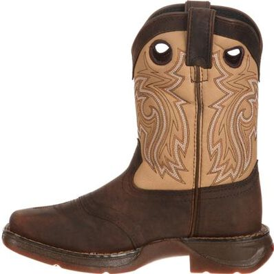 LIL' DURANGO® Big Kid Saddle Western Boot, , large