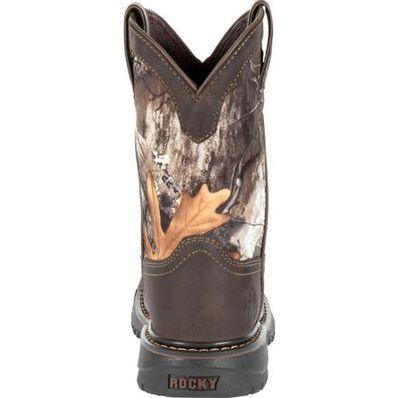 Rocky Kids' Ride FLX Waterproof Western Boot, , large
