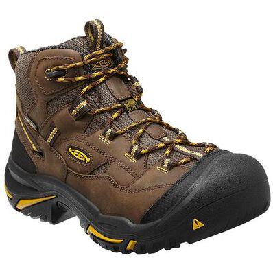 KEEN Utility® Braddock Steel Toe Waterproof Hiker, , large