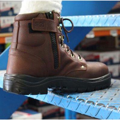 Steel Blue Argyle Zip Steel Toe Work Boot, , large