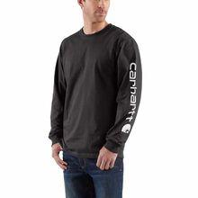 Carhartt Long-Sleeve Graphic Logo T-Shirt