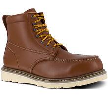 Iron Age Reinforcer Men's Steel Moc Toe Electrical Hazard Leather Work Boot
