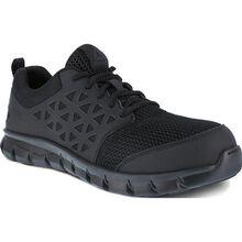 Reebok Sublite Cushion Work Men's Composite Toe Static-Dissipative Slip-Resistant Work Athletic Shoe