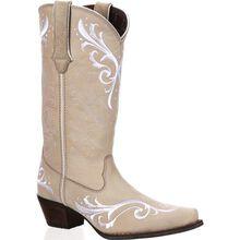 Crush™ by Durango® Women's Sexy Stitch Ivory Western Boot
