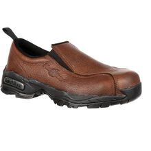 Nautilus Steel Toe Static-Dissipative Slip-On Work Shoe