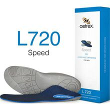 Aetrex Men's Speed Low/Flat Arch Posted Orthotic
