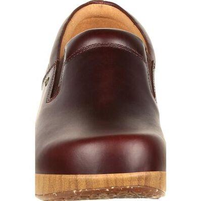 4Eursole Comfort 4Ever Women's Mahogany Slip-On Shoe, , large