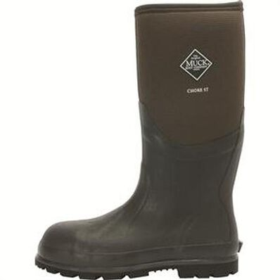 Muck Boots Chore Cool Steel Toe Waterproof Work Boot, , large