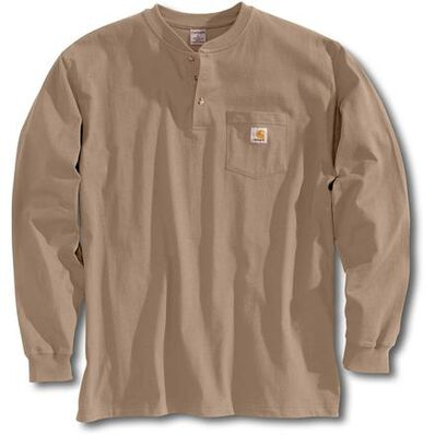 Carhartt Long Sleeve Workwear Henley, , large
