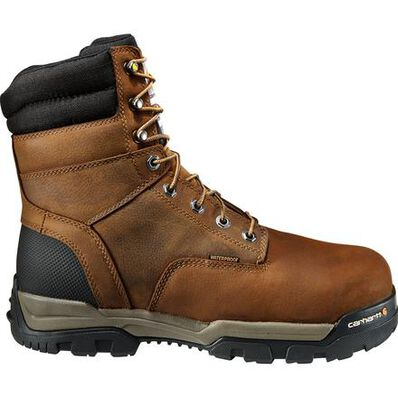 Carhartt Ground Force Men's 8 Inch Composite Toe 600G Insulated Waterproof Work Boot, , large